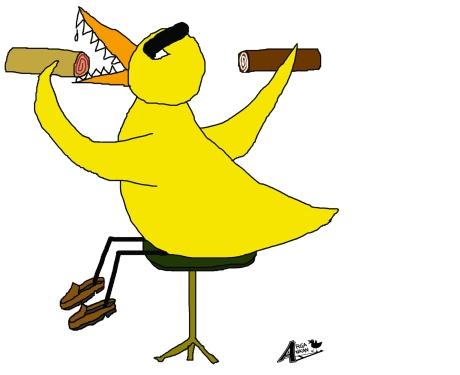 Swiss roll duck