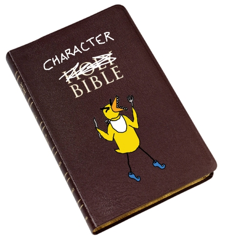 Angry Duck character bible