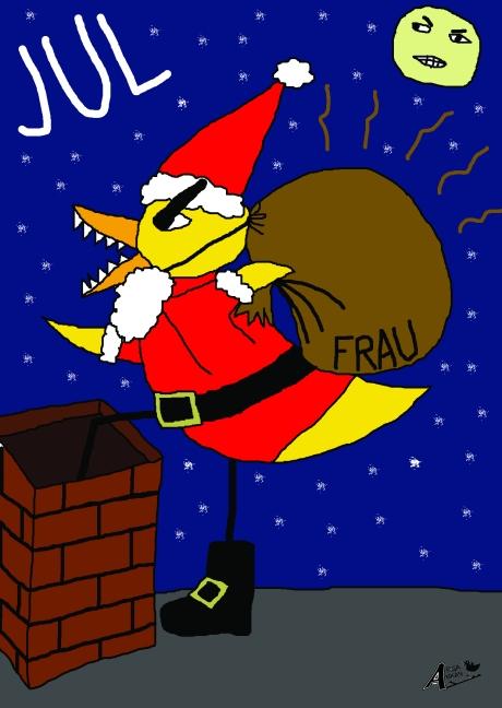 Christmas Angry Duck 2011